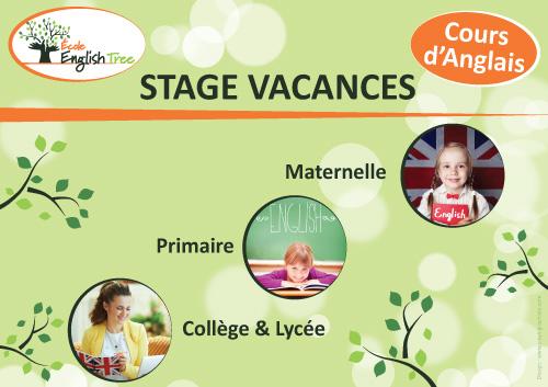Stage Vacances Anglais été 2020