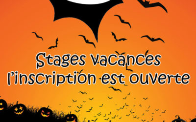 Inscriptions stage Halloween 2020